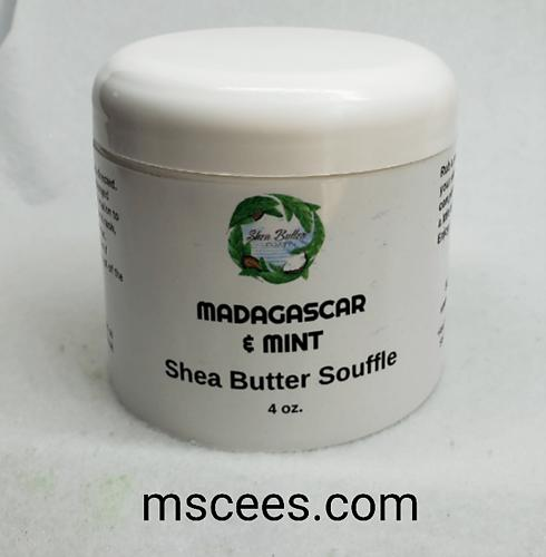 Madagascar and Mint Shea Butter Souffle